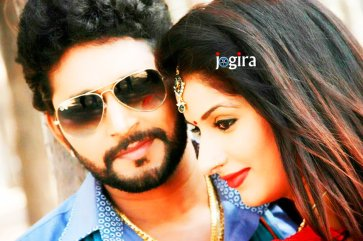 bhojpuri actor yash kumar and poonam dubey ka photo