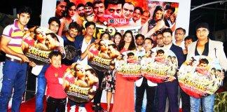 Music launch of bhojpuri film shahenshah