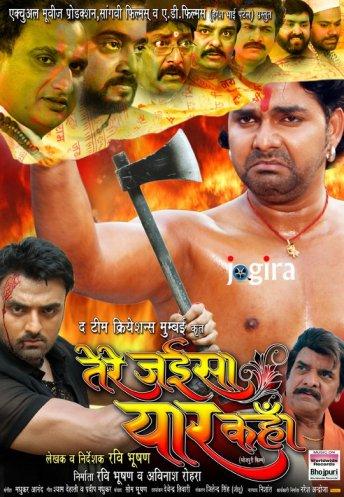 bhojpuri film tere jaise yaar kahan ka poster