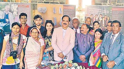 मॉरिशस गया बिहार का सांस्कृतिक दल
