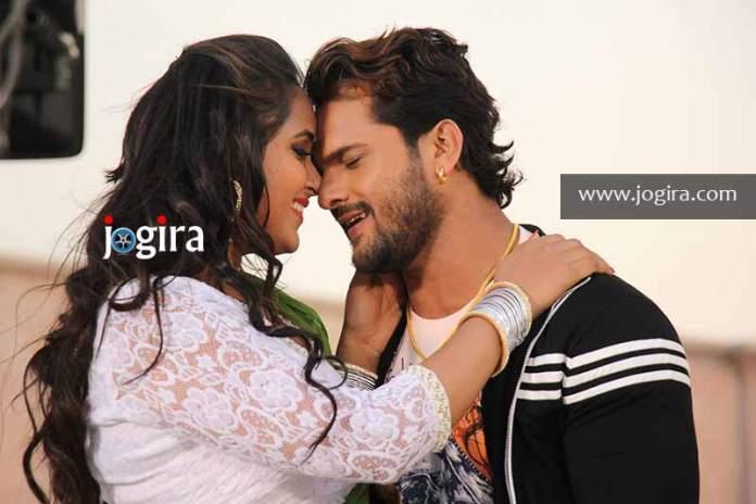 Bhojpuri film Diwanapan Another explosion of Khesarilal yadav and Kajal raghwani