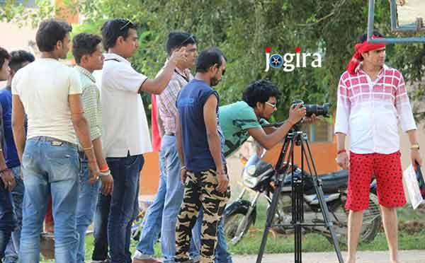 भोजपुरी फ़िल्म दीवाने हुए हम की शूटिंग