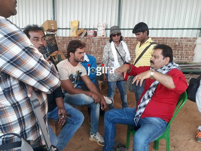 khesarilal yadav bhojpuri movie raja jani shooting completed