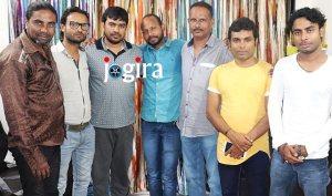 भोजपुरी फिल्म नचनिया बाज की शूटिंग