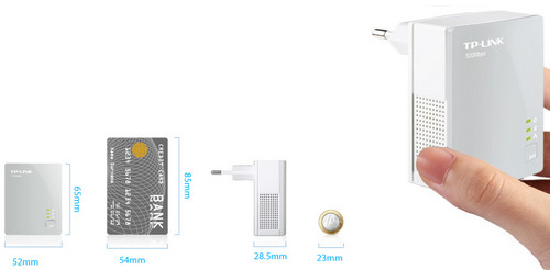 TP-Link TL-PA4010 Miniature Design