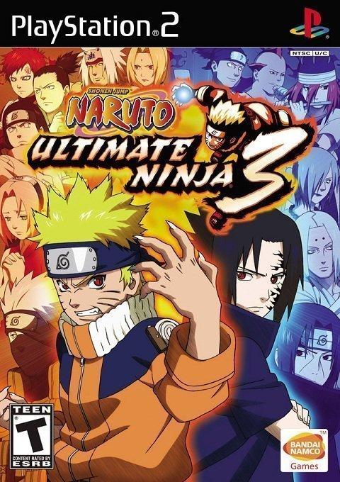 Naruto Ultimate Ninja 3 PS2 Senhas Cheats Manhas