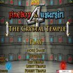 Água e Fogo 4 no Templo de Cristal