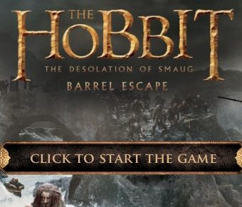 The hobbit – Barrel Escape