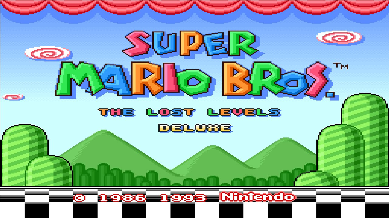 Super Mario Bros The Lost Levels Deluxe