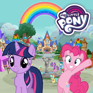 MY LITTLE PONY JOGO RAINBOW ROADTRIP