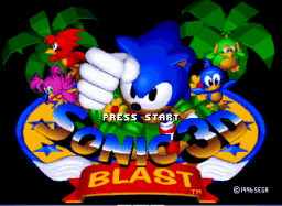 Super Sonic in Sonic 3D