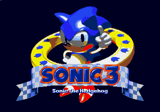 Sonic the Hedgehog 3 (Nov-3-1993 prototype)