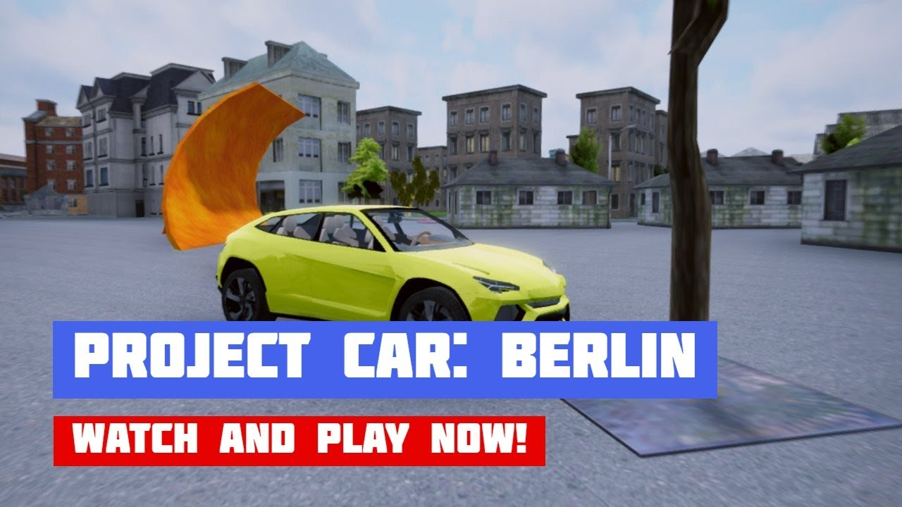 Project Car Physics Simulator Sandboxed: Berlin