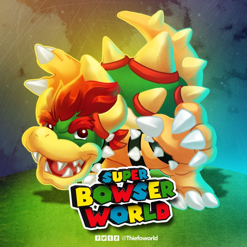 New Super Bowser World
