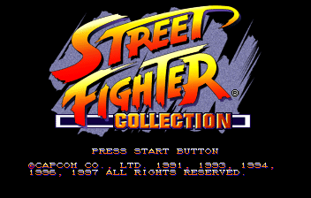 Street Fighter Collection ( SS )