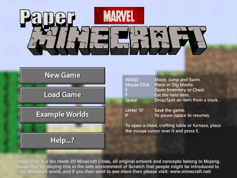 Paper Minecraft v11.3 Marvel Edition