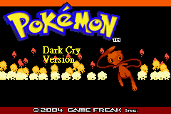 Pokemon Dark Cry – GBA