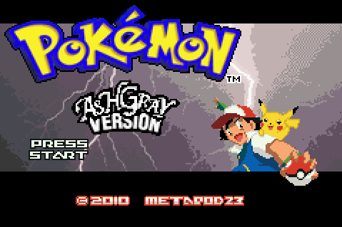 Pokemon Ash Gray (beta 2.5z)