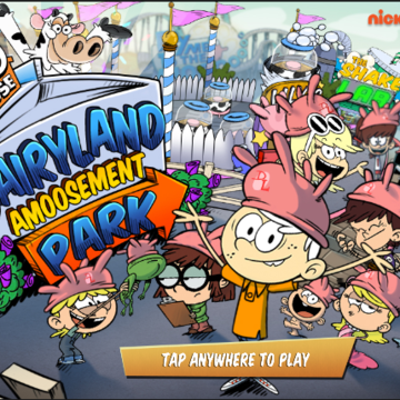 The Loud House: Dairyland Amoosement Park