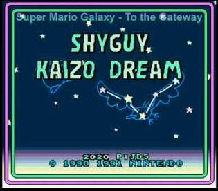 ShyGuy Kaizo Dream