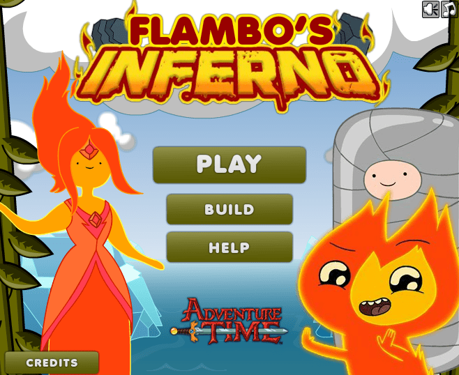 Adventure Time: Flambos inferno