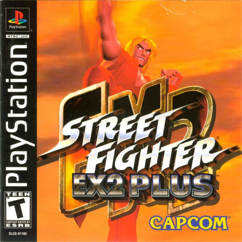 Street Fighter EX2 Plus (USA) – PS1