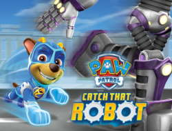 PAW Patrol Catch That Robot