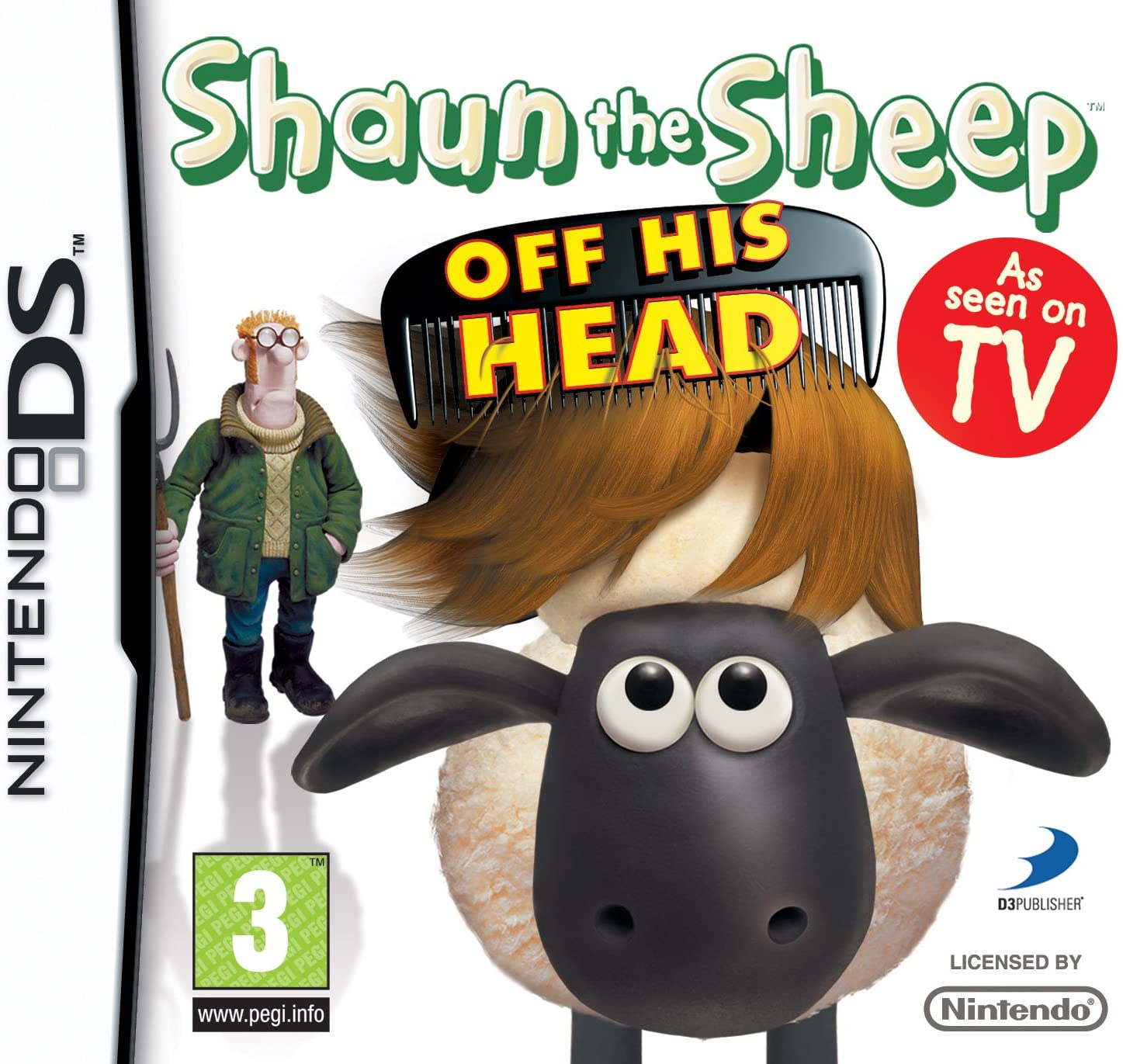 Shaun the Sheep – Off His Head – NDS