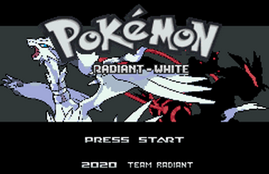 Pokemon Radiant White (GBA)