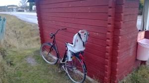 En vanlig UL-hållplats en bit utanför Uppsala.