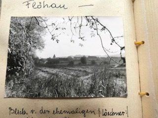 Blick von der ehemaligen Löschner Zigelei auf auf Flöhau