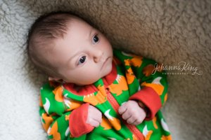 Meet Lois, two weeks old, for a lifestyle photo session