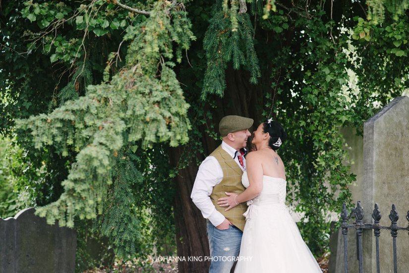 Day After Wedding Portraits in Glasnevin, Dublin