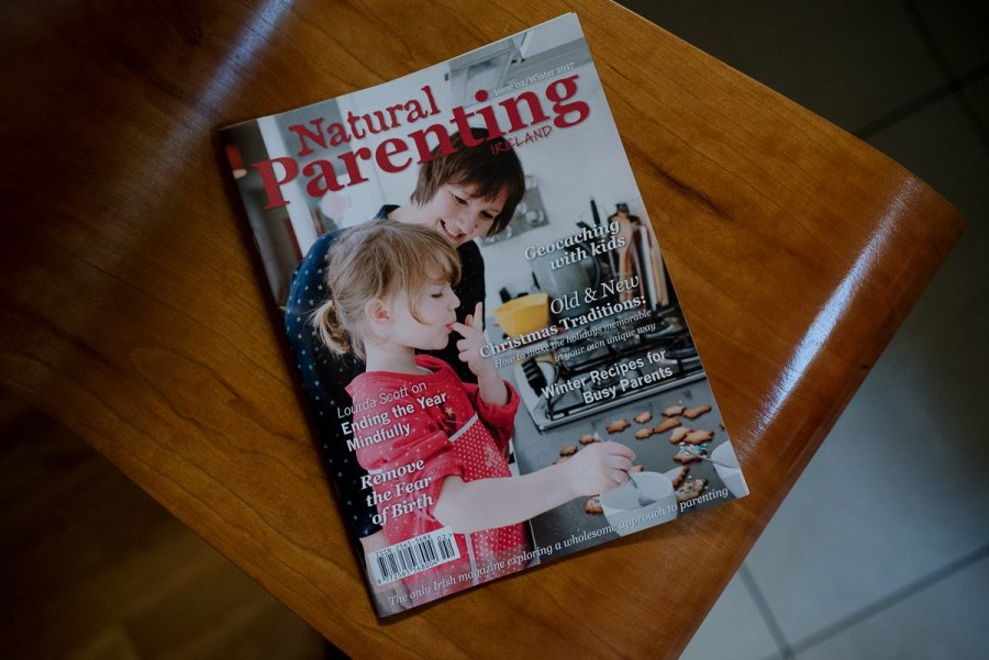 Natural Parenting Magazine Ireland Photography