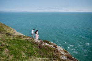 Vacation Couple Photoshoot in Howth