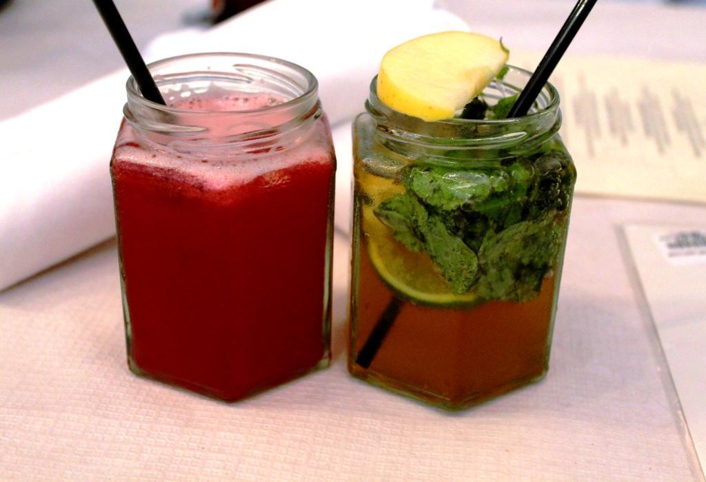 Mocktails at Redemption Bar London Holborn
