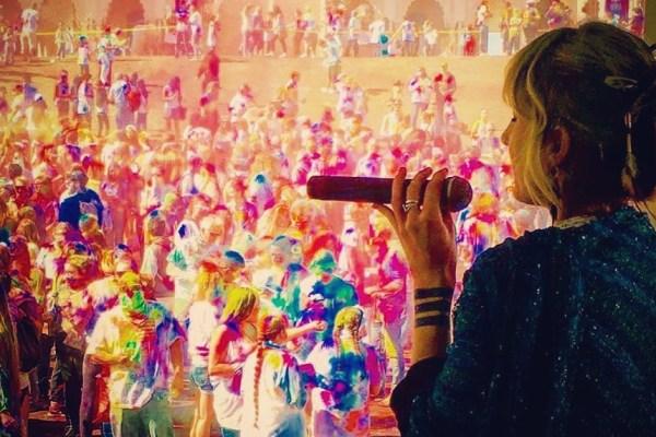 Johanna at Festival of Colors