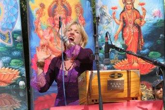 Johanna on stage