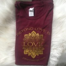 Maroon Unisex Classic Beyond Love T Shirt
