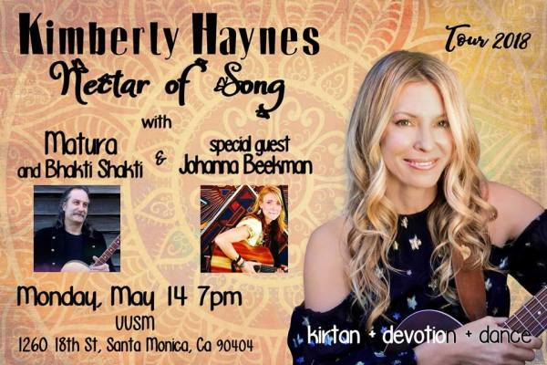 Kimberly Haynes nectar of song tour 2018