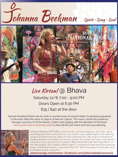 Bhava Yoga poster 2018