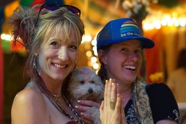 Johanna with Rachael Fairbanks