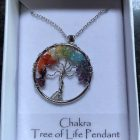 Gemstone Chakra Tree Of Life Pendant