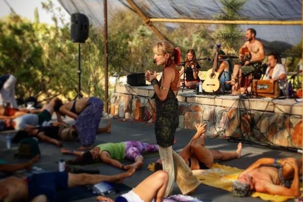 Lullaby Yoga at Shakti Fest