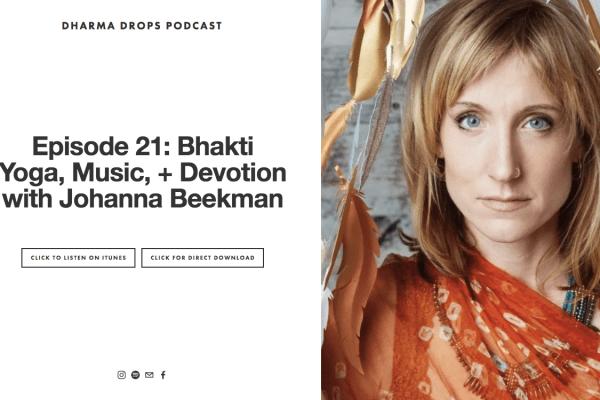 Johanna Dharma Drops podcast