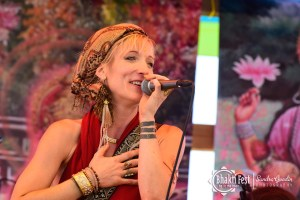 Johanna at Bhakti Fest 2019
