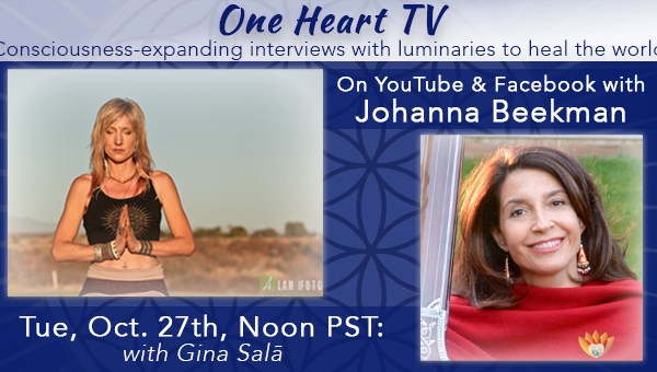 One Heart TV Facebook Event Banner Gina