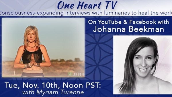 One Heart TV Facebook Event Banner Myriam