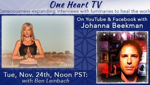 One Heart TV Facebook Event Banner Ben