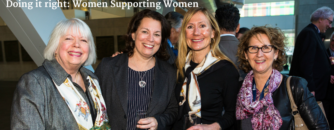 Doing it right: Women Supporting Women